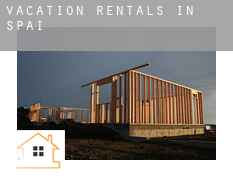 Vacation rentals in  Spain